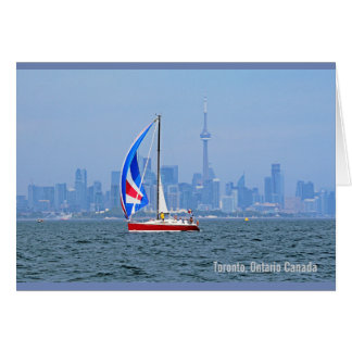 Toronto Lakefront Note Card