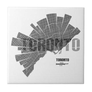 Toronto_Map Ceramic Tiles