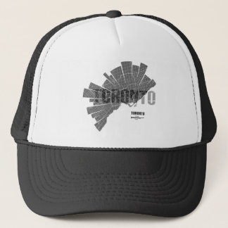 Toronto_Map Trucker Hat