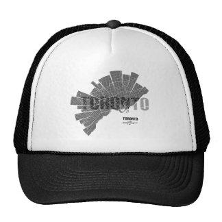 Toronto_Map Trucker Hat