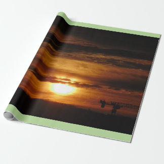 Toronto Morning Sunrise Wrapping Paper