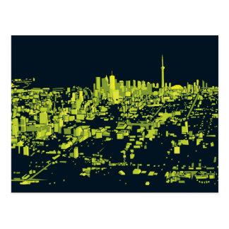 Toronto Night Postcards