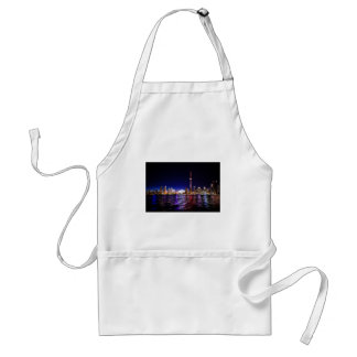 Toronto Night Skyline Standard Apron