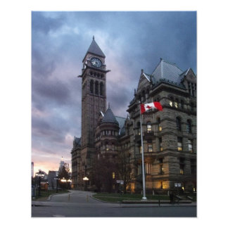 Toronto Old City Hall at Dusk Photo Print
