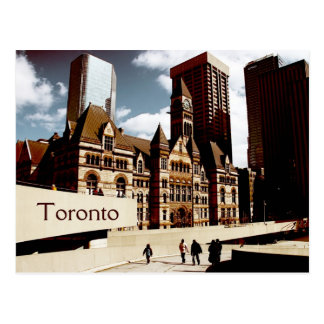 Toronto, old city hall postcard