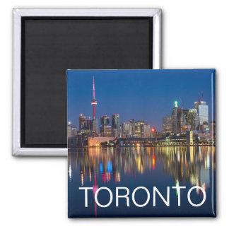 Toronto, Ontario, Canada Evening Skyline Magnet