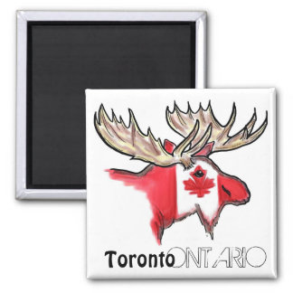 Toronto Ontario Canada local flag magnet