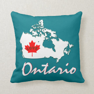 Toronto Ontario Customize  Canada Province pillow