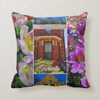 Toronto Ontario Images – Allen Gardens Throw Pillow