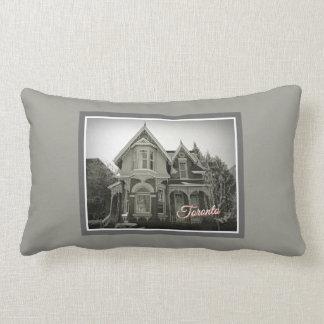 Toronto Ontario Images – Victorian Architecture Lumbar Pillow