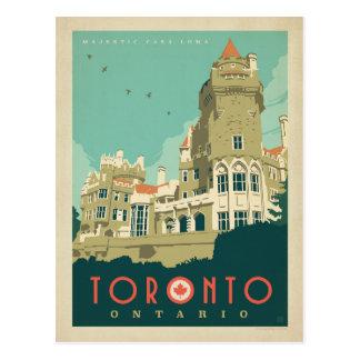 Toronto, Ontario - maison majestueuse Loma Carte Postale