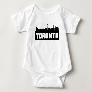 Toronto Ontario Skyline Baby Bodysuit