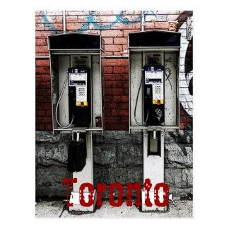 Toronto payphones postcard