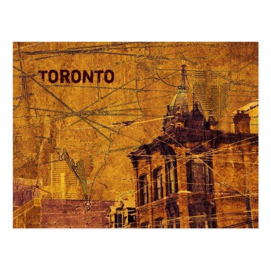 Toronto Queen street postcard