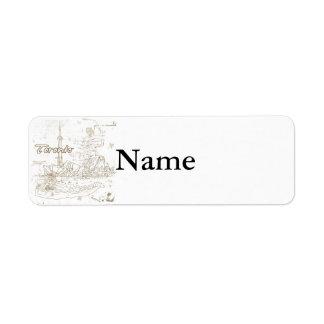 Toronto Return Address Label