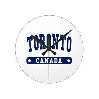 Toronto Round Clock