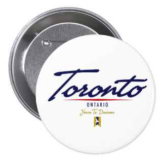 Toronto Script Pin