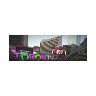 Toronto Sign Picture Canvas Print