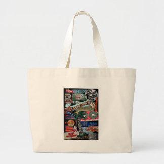 Toronto Signs Large Tote Bag