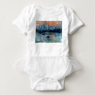 Toronto Skyline40 Baby Bodysuit