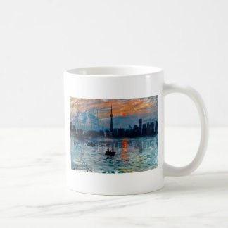 Toronto Skyline40 Coffee Mug
