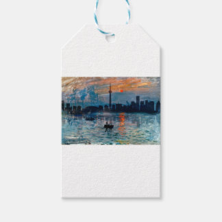 Toronto Skyline40 Gift Tags