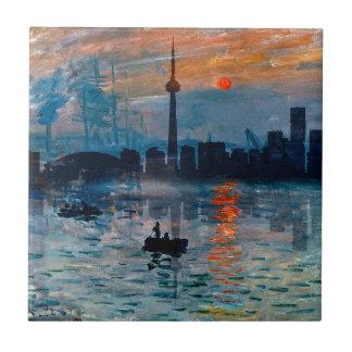 Toronto Skyline40 Tile