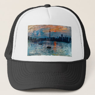 Toronto Skyline40 Trucker Hat
