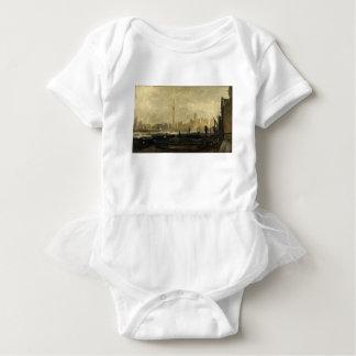 Toronto Skyline 41 Baby Bodysuit