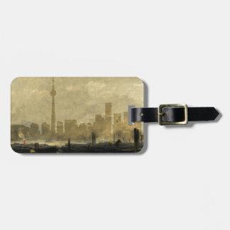 Toronto Skyline 41 Luggage Tag