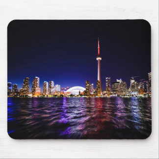 Toronto Skyline at Night Mouse Pad