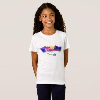 Toronto skyline in watercolor T-Shirt