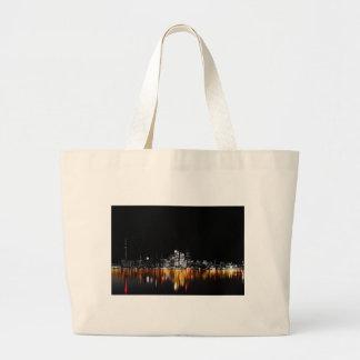 Toronto Skyline Large Tote Bag