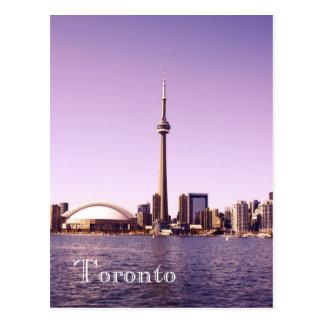 Toronto skyline - morning postcard