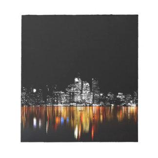 Toronto Skyline Notepad
