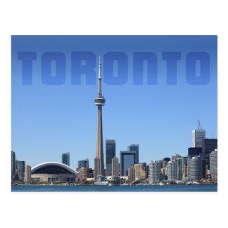 Toronto skyline postcard