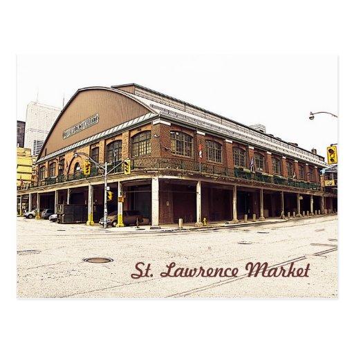Toronto St. Lawrence Market Postcards