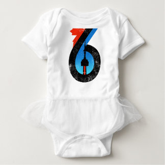 Toronto The Six Baby Bodysuit