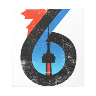 Toronto The Six Notepad