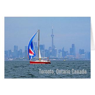 Toronto Waterfront from Lake Ontario Card