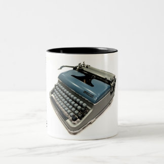 Torpedo 18B typewriter Two-Tone Coffee Mug