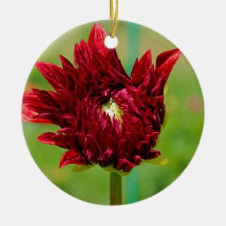 Torpedoing Bliss Round Ceramic Ornament