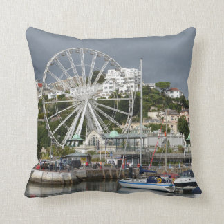 Torquay, Devon, England Throw Pillow / Cushion