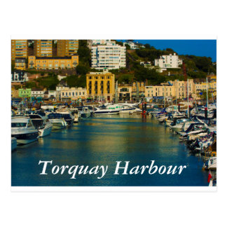 Torquay Harbour postcard