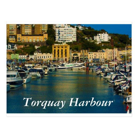 Torquay Harbour postcard