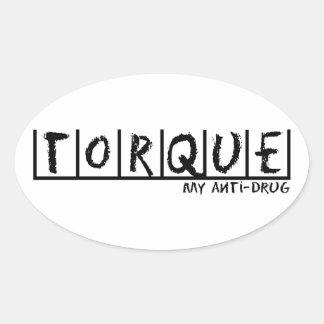 Torque Anti-Drug Stickers
