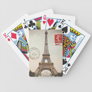 Torre Eiffel Bicycle Playing Cards