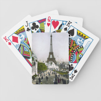 Torre Eiffel Universal Exhibition of Paris Bicycle Playing Cards
