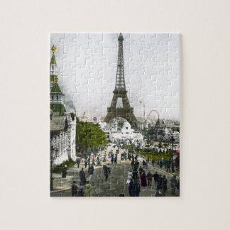 Torre Eiffel Universal Exhibition of Paris Jigsaw Puzzle