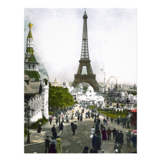 Torre Eiffel Universal Exhibition of Paris Letterhead